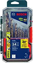 Bosch CO14B 14 Pc. Cobalt M42 Drill Bit Set