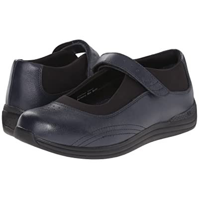 Drew Rose (Navy Smooth Leather) Women