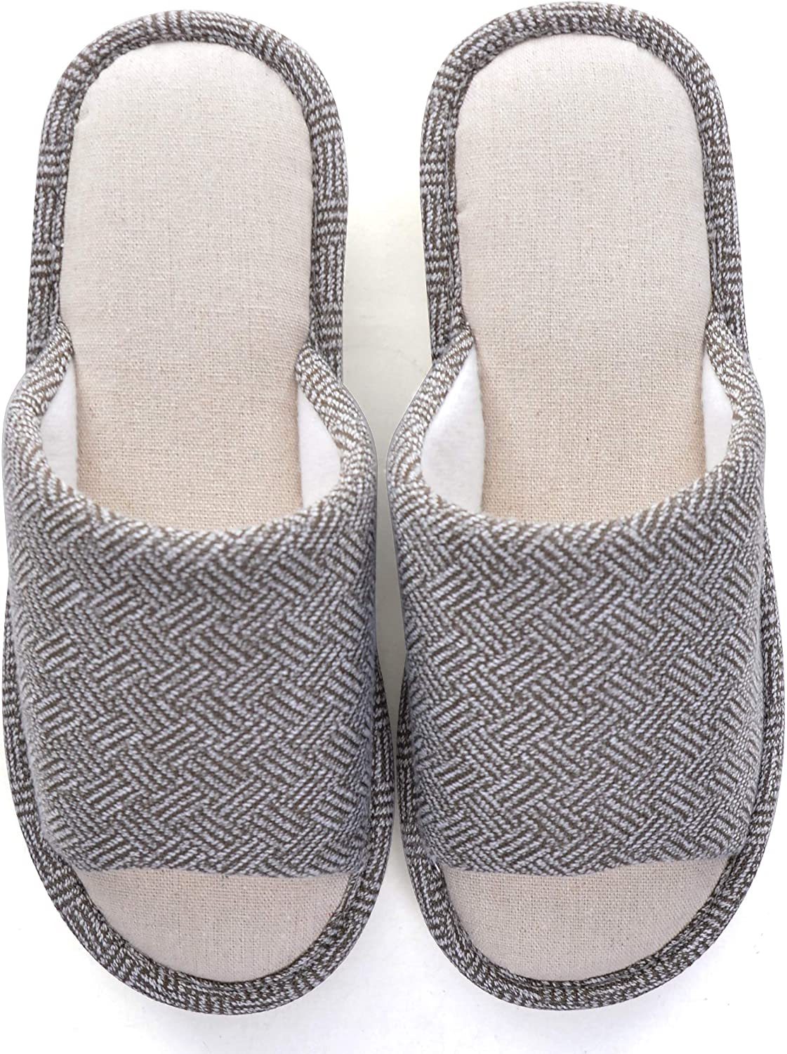 Memorygou Cozy Womens Mens Home Slippers Ind Memory Surprise price Foam Casual 40% OFF Cheap Sale