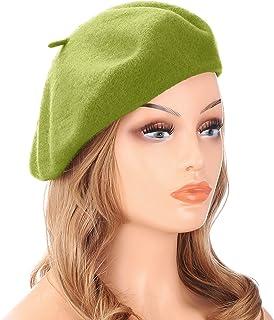 1870bdecc7f Amazon.com  Greens - Berets   Hats   Caps  Clothing
