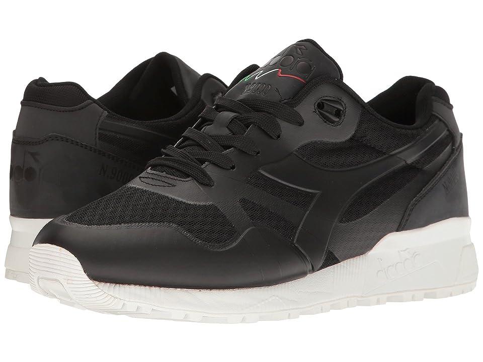 Diadora N9000 MM (Black) Athletic Shoes