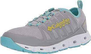 حذاء مياه نسائي من Columbia PFG Megavent II PFG رمادي غامق/أصفر حمضي، 9. 5 عادي US