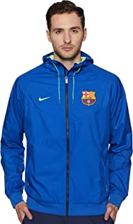 FCB M NSW WR Wvn Aut Chaqueta FC Barcelona, Hombre