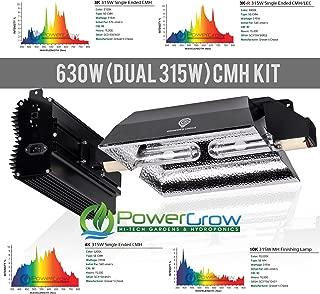 Grower's Choice 630NS (630w CMH / Dual 315W Ceramic Metal Halide bulbs) - Complete Setup ((2) 4K (4,200K Vegetative))