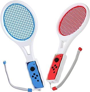 JOOSHY Nitendo Switch 任天堂 Joy-Con用 マリオテニス テニスラケット 2個セット