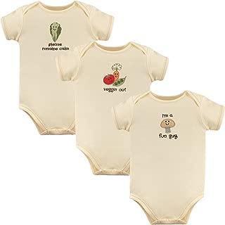 Unisex Baby Organic Cotton Bodysuits
