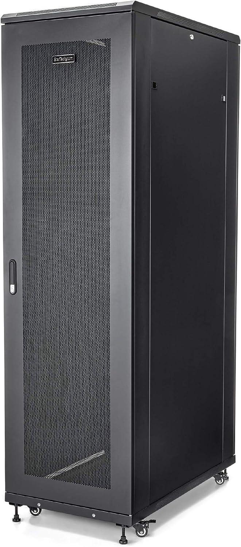 StarTech.com 42U Server Rack Cabinet - 4-Post Adjustable Depth (6