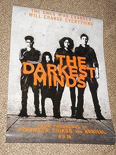 The Darkest Minds POSTER 27x40 Original D/S Movie Poster