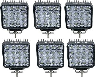 300W Projecteur Phare de Travail LED 12 V 24 V 11400lm Work Light Bar Phare Lumi/ère de travail Offroad SUV UTV ATV Lampe de travail Tracteur 54
