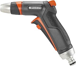 GARDENA Pistolet zraszający Premium: solidnie zbudowany pistolet do czyszczenia i nawadniania, z wyzwalaczem impulsowym i ...