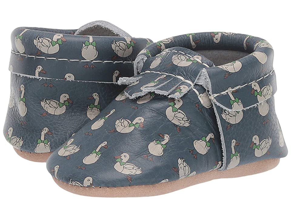 Freshly Picked Soft Sole City Moccasins Classy Gents (Infant/Toddler) (Marvelous Mallards) Boys Shoes