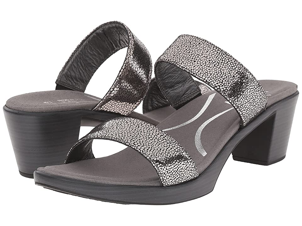 Naot Fate (Silver Pebble Leather) Women