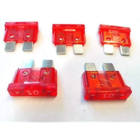 50 X Flachstecksicherung Ato Sicherung 10a 32v Rot Gewerbe Industrie Wissenschaft