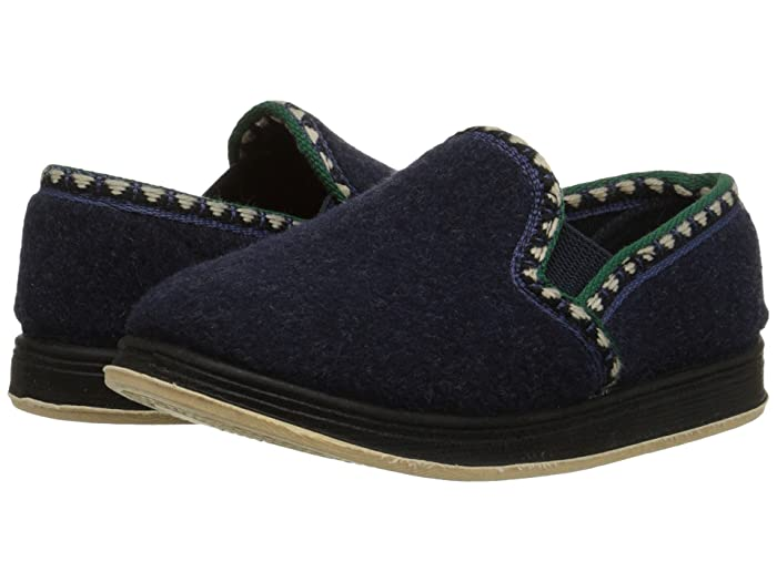 Image of Lightweight Blue House Shoes for Boys and Toddlers