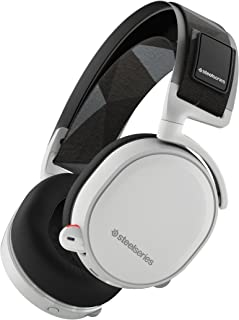 SteelSeries Arctis 7 Lag-Free Wireless Gaming Headset - White (Discontinued by Manufacturer)