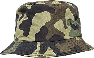 Flexfit Camo Bucket Hat 5003CB Streetwear Cappello Tela