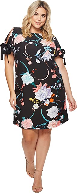 Plus Size Zen Blossom Shift Dress