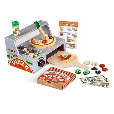 Melissa & Doug Wooden Pizza Counter