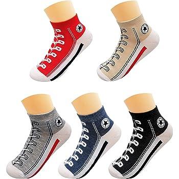 AlterChoice Mens Novelty Socks, Short Ankle Socks look like shoes, Great Gift for Men