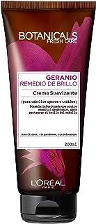 L'Oreal Paris Botanicals Crema Suavizante, Remedio de brillo para cabellos opacos o teñidos - 200 ml