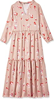 ONLY Women's Giza Maxi Floral Dress