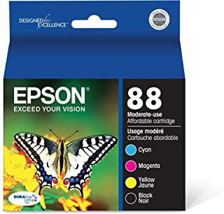 Best Epson T088120-BCS DURABrite Ultra Black and Color Combo Pack Moderate Capacity Cartridge Ink Review