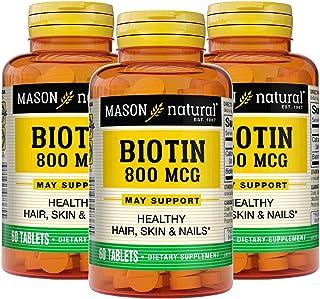 BIOTIN+TABS+800+MCG+MASON+(Pack+of+3)3