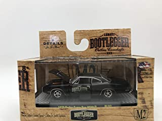 M2 Machines Bootlegger 1970 Dodge Super Bee HEMI 1:64 Scale BL02 16-26 Black Details Like NO Other! Over 42 Parts 1 of 9800