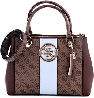 Luxury Fashion | Guess Womens HWSG7402060BROWN Brown Handbag | Fall Winter 19