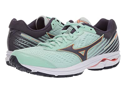 Mizuno Wave Rider 22 (Misty Jade/Graphite) Women