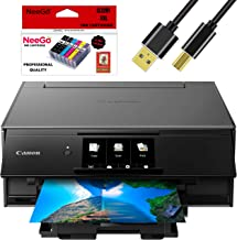 $169 » Canon Wireless Pixma TS9120 Inkjet All-in-one Printer with Scanner, Copier, Mobile Printing, Airprint and Google Cloud + Bonus Set of Ink and Printer Cable