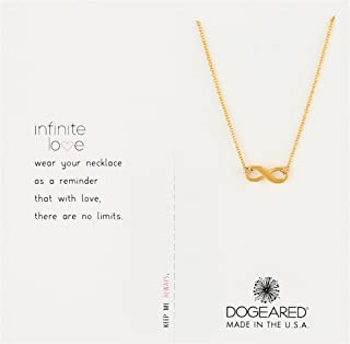 Dogeared Women's Infinite Love Necklace 16