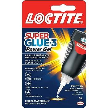 Colle super glue extra-forte rapide instantanée polyvalente Cyanoacrylate