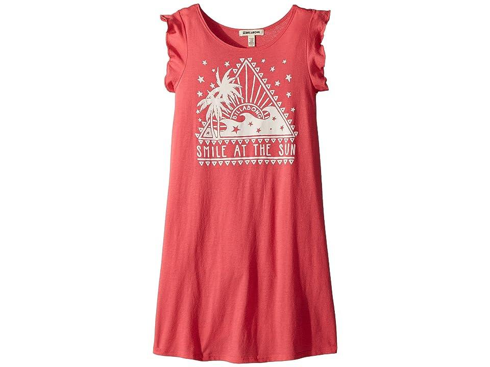 Billabong Kids Sunstruck Days Dress (Little Kids/Big Kids) (Passion Fruit) Girl