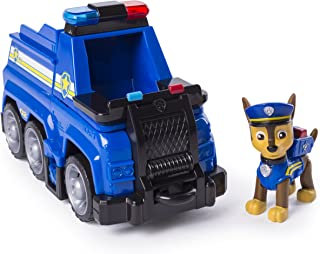 PAW Patrol Ultimate Rescue - Chase's Ultimate Rescue Police Cruiser with Lifting Seat & Fold-out Barricade, Ages 3 and Up