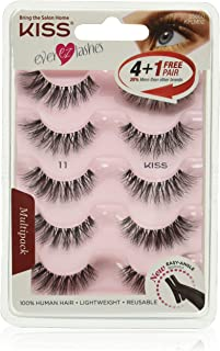 KISS Products Ever EZ Lashes, 5 Pair
