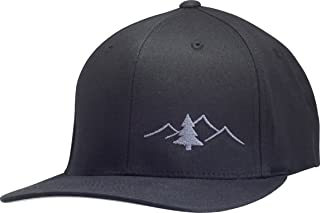 Lindo Flexfit Pro Style Hat - The Great Outdoors (Black w/Graphite: S/M)