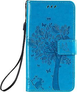 LODROC Lederen Portemonnee Case voor LG K30 (2019), [Kickstand Feature] Luxe PU Lederen Portemonnee Case Flip Folio Cover ...