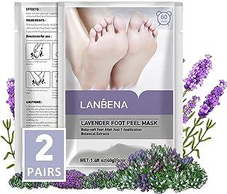 Foot Peel Mask Lavender(2 Pairs),Exfoliator Peel Off Calluses Dead Skin Callus Remover,Repair Rough Heels & Get a Smooth S...