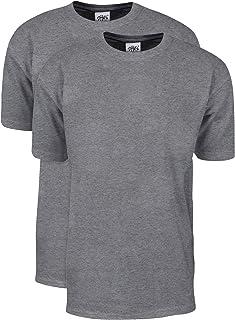 Shaka Wear Men`s 2Pack Max Heavy Weight 7 oz. Cotton Short Sleeve T-Shirt