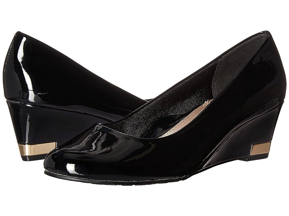 Soft Style Gana (Black Patent) Women