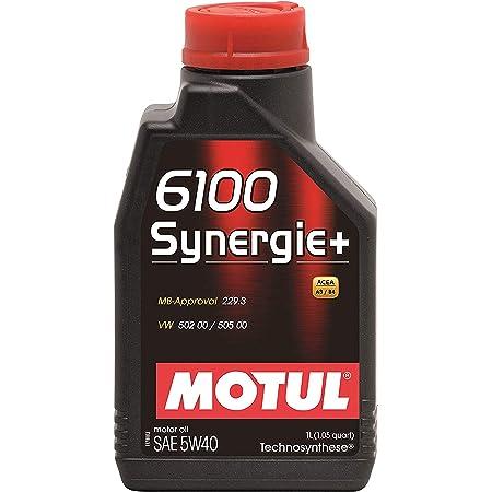 Motul 102781 12pk 102781 6100 Synergie 10w40 1liter Auto