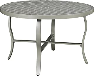 Home Styles 5700-32 South Beach Round Outdoor Patio Dining Table, 48