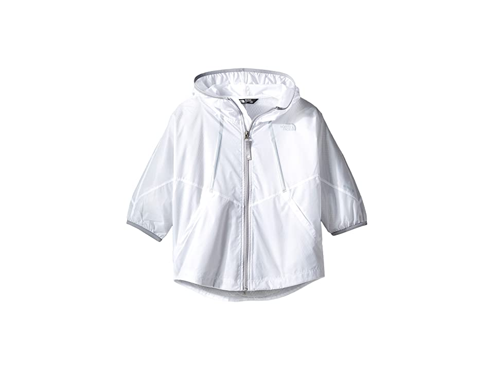 The North Face Kids Flyweight Capelette (Little Kids/Big Kids) (TNF White (Prior Season)) Girl