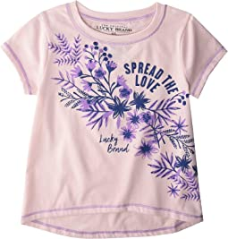 Belinda Short Sleeve Tee Shirt (Little Kids)