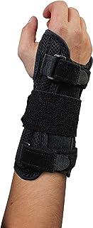 Blue Jay An Elite Healthcare Brand Deluxe Wrist Brace Black for Carpal Tunnel, Left Large/X-Large