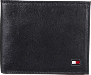 Tommy Hilfiger Men's Bifold Wallet - Leather Slim Thin...