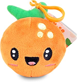 Scentco Fruit Troop Backpack Buddies - Scented Plush Toy Clips - Orange