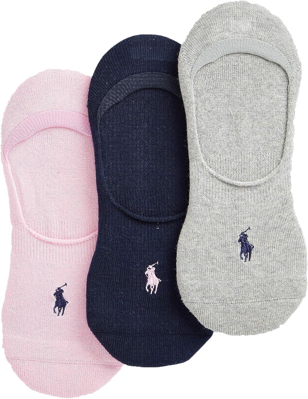 Polo Ralph Lauren Men's Sneaker Liner Sock 3-Pack Size 10-13