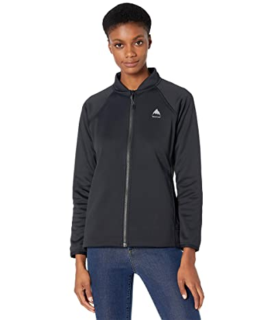 Burton Crown Weatherproof Track Jacket (True Black) Women
